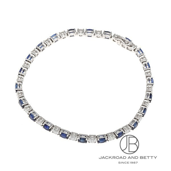 ノーブランド No Brand サファイア ダイヤモンド ブレスレット 210013/4WNB33 S4.52ct D2.08ct 新品 ジュエリー ブランドジュエリー