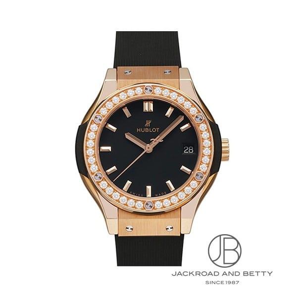 ウブロ HUBLOT クラシックフュージョン キングゴールド ダイヤモンド 581.OX.1181.RX.1104 新品 時計 レディース