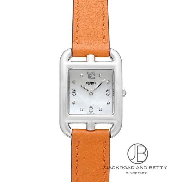 エルメス HERMES ケープコット ドゥブルトゥール CC1.210.290/W931-1 新品 時計 レディース