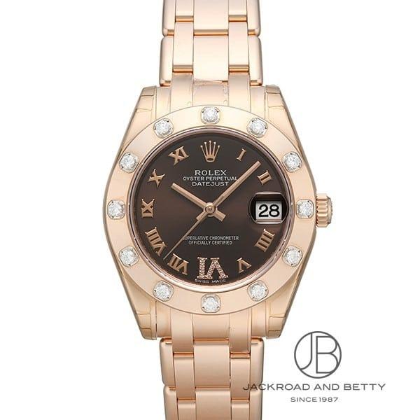 ロレックス ROLEX オイスターパーペチュアルパールマスター 81315 新品 時計 レディース