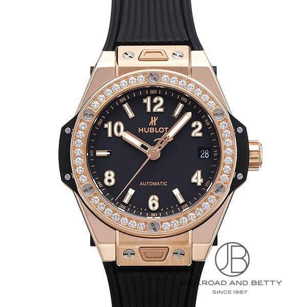ウブロ HUBLOT ビッグバン ワンクリック キングゴールド ダイヤモンド 465.OX.1180.RX.1204 新品 時計 レディース