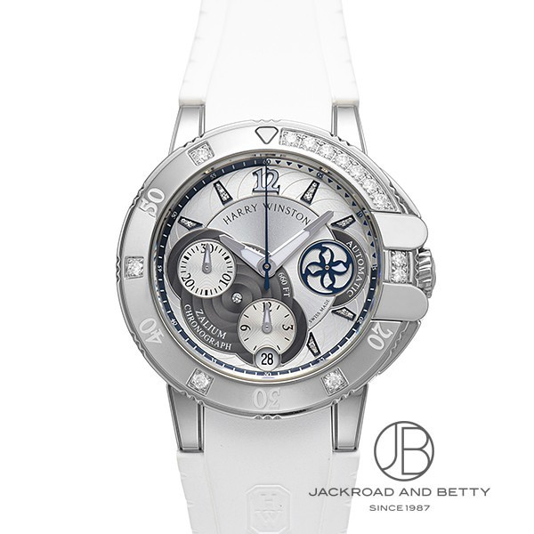 ハリー・ウィンストン HARRY WINSTON オーシャンスポーツ レディ クロノグラフ OCSACH38ZZ006 新品 時計 レディース