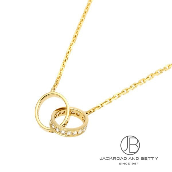 カルティエ CARTIER ラブ ネックレス ダイヤモンド B7013800 新品 ジュエリー ブランドジュエリー