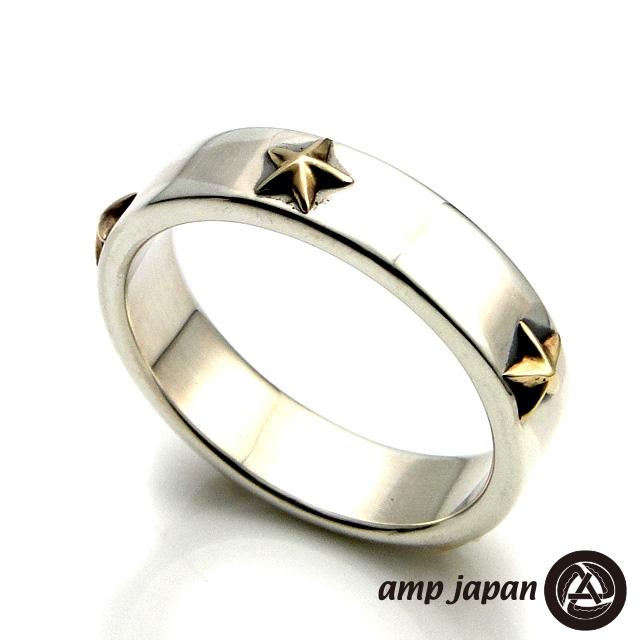 アンプジャパン 正規販売店 【amp japan】 ファイブ スター リング ゴールド アンプ ジャパン