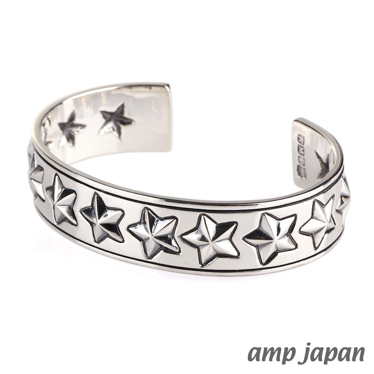アンプジャパン【amp japan】Hybrid Star Bangle ハイブリッド スター バングル M