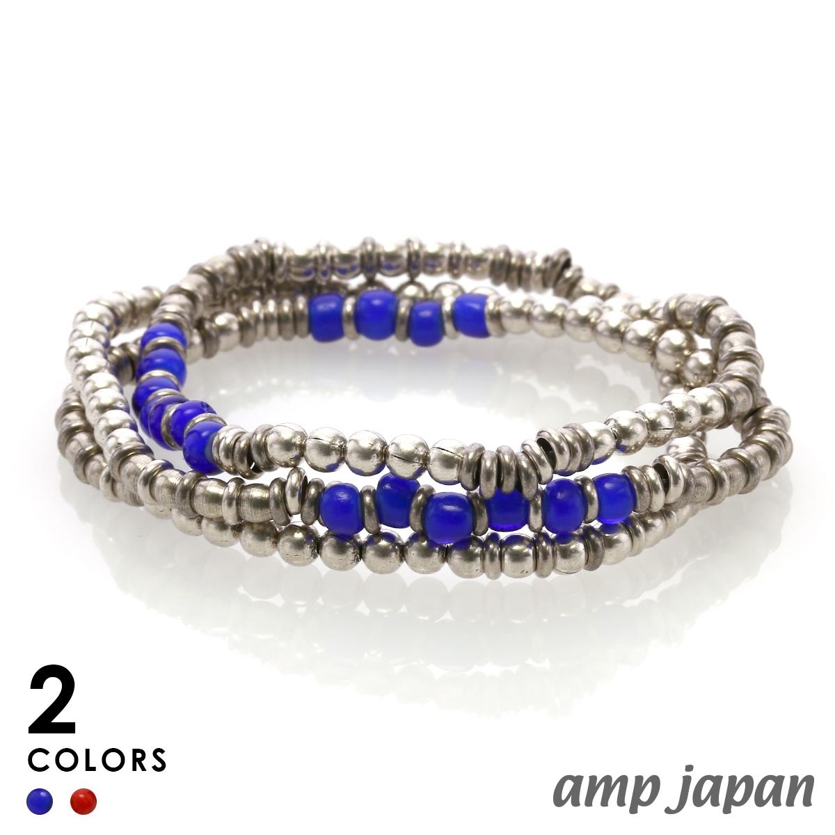 アンプジャパン【amp japan】Metal Beads Sunrise/Sunset メタル ビーズ サンセット ネックレス