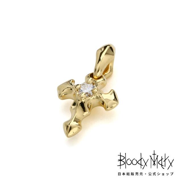 ブラッディマリー【Bloody Mary】 K18 ロスト ペンダント w / ダイヤモンド - クロス レディース メンズ