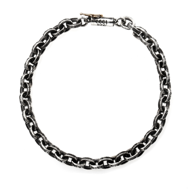 Chrome hearts paper chain bracelet 7inCH