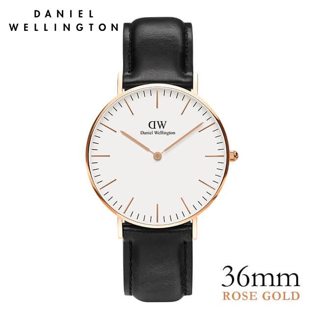 ダニエルウェリントン 36mm Daniel Wellington シェフィールド ローズ 腕時計