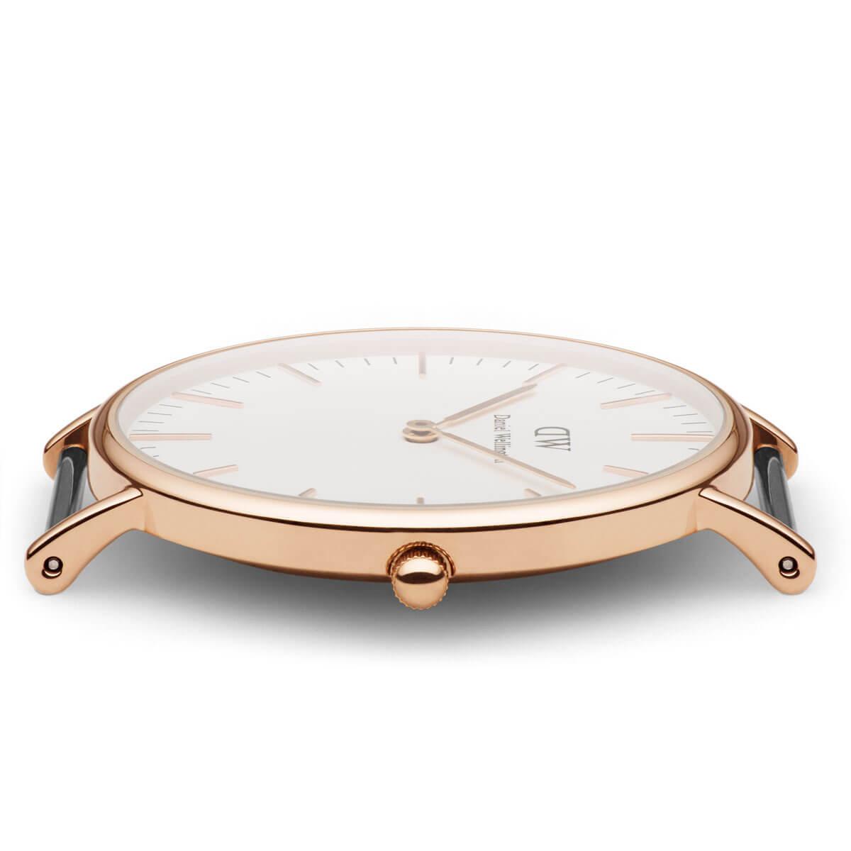 ダニエルウェリントン 36mm Daniel Wellington ブリストル ローズ メンズ レディース 腕時計