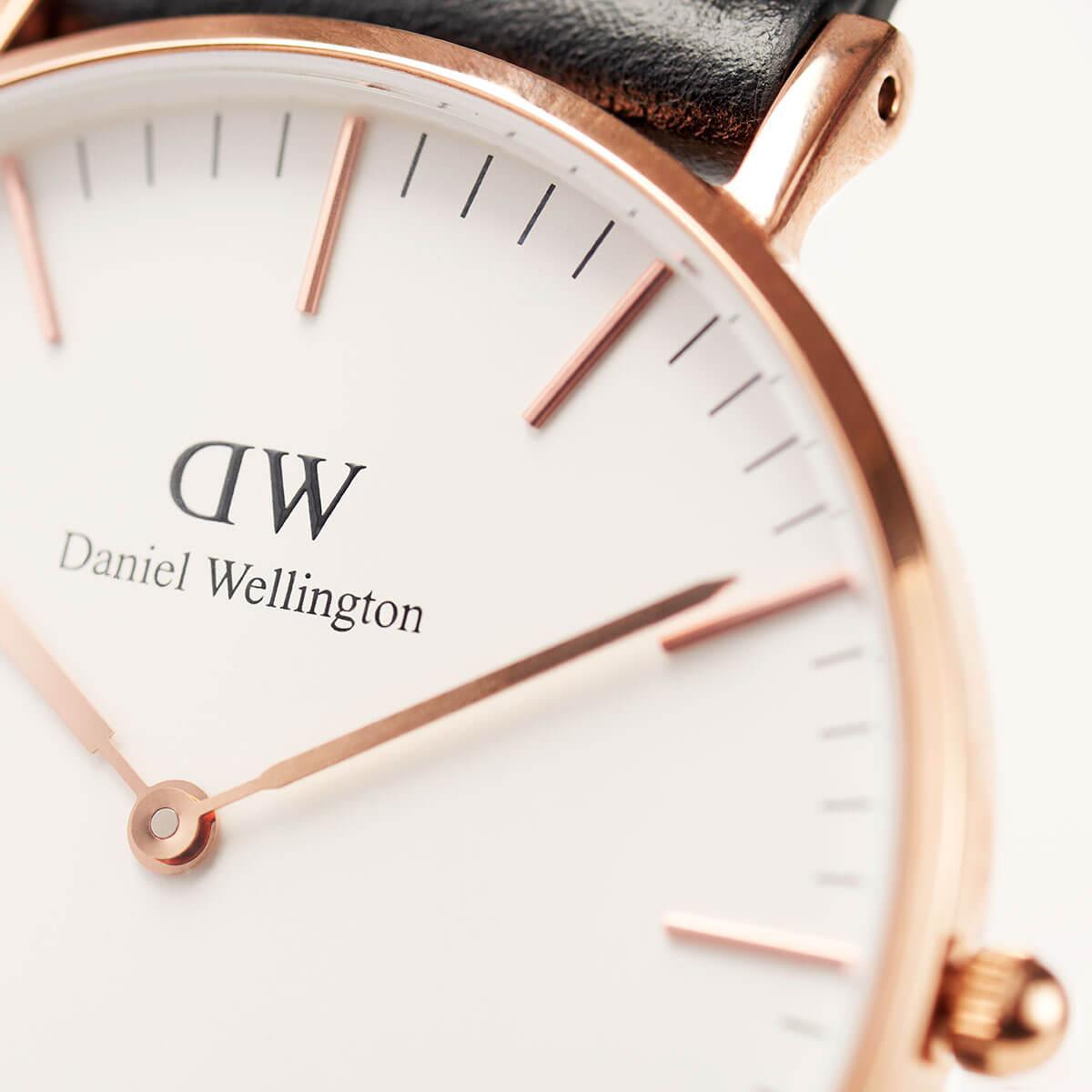 ダニエルウェリントン メンズ レディース 36mm Daniel Wellington ヨーク ローズ メンズ レディース 腕時計