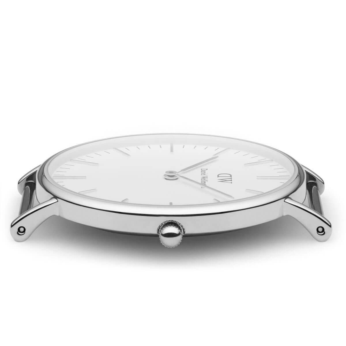 ダニエルウェリントン 36mm Daniel Wellington オックスフォード シルバー メンズ レディース 腕時計