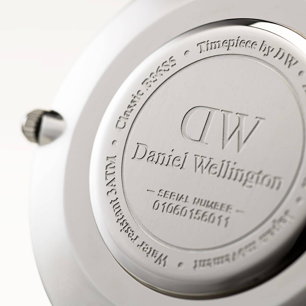 ダニエルウェリントン 36mm Daniel Wellington スウォンジ シルバー メンズ レディース 腕時計