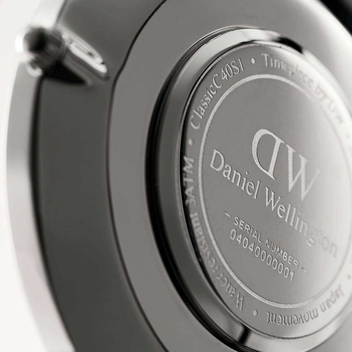 ダニエルウェリントン 40mm Daniel Wellington クラシック レディング リーディング シルバー 腕時計