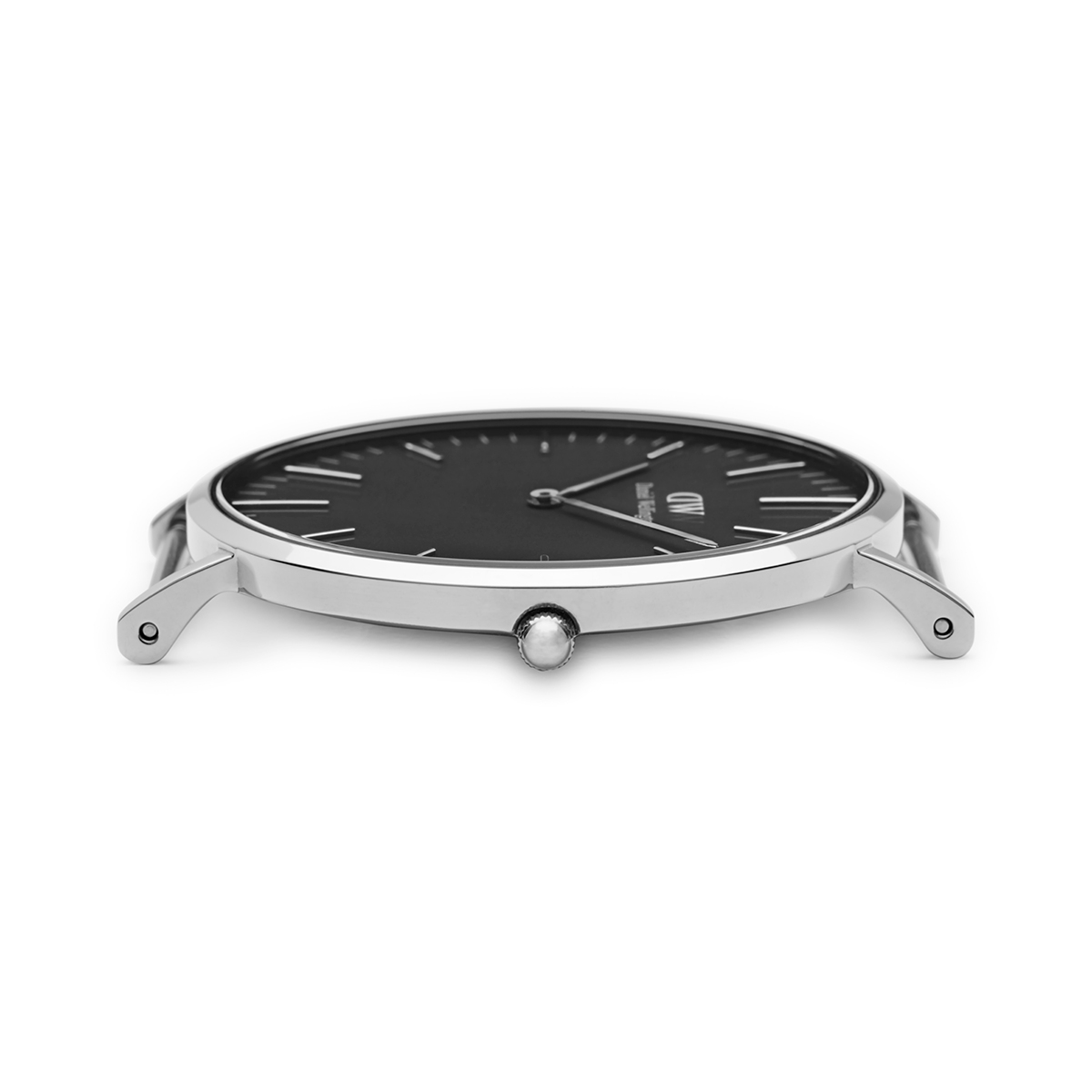 ダニエルウェリントン 36mm Daniel Wellington クラシックブラック レディン シルバー 腕時計