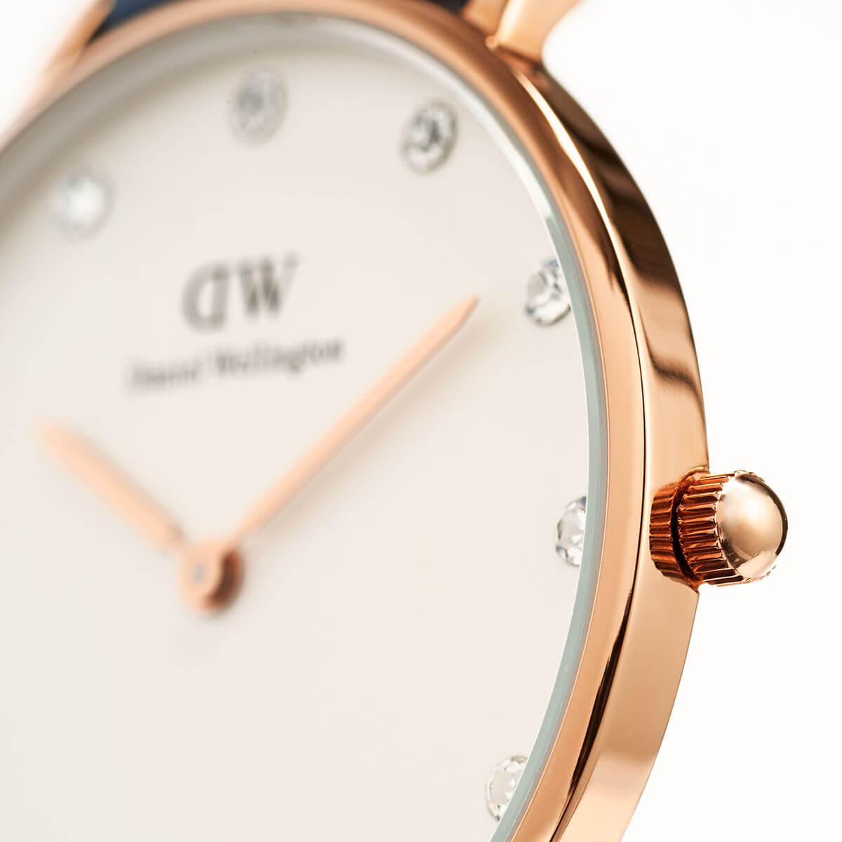 ダニエルウェリントン 34mm Daniel Wellington シェフィールド ローズ メンズ レディース 腕時計