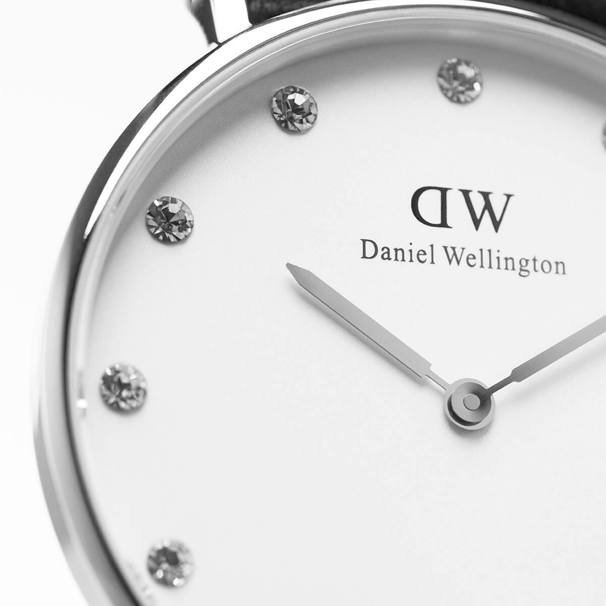 ダニエルウェリントン 34mm Daniel Wellington グラスゴー シルバー メンズ レディース 腕時計
