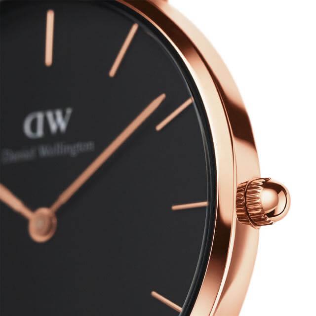 ダニエルウェリントン 32mm Daniel Wellington クラシックペティット メルローズ ローズゴールド 腕時計