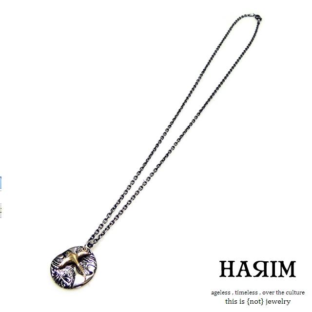 ハリム【HARIM】ドリフトインザシルクロードアラベスクスカイ&バードペンダント - arabesque sky & bird pendant