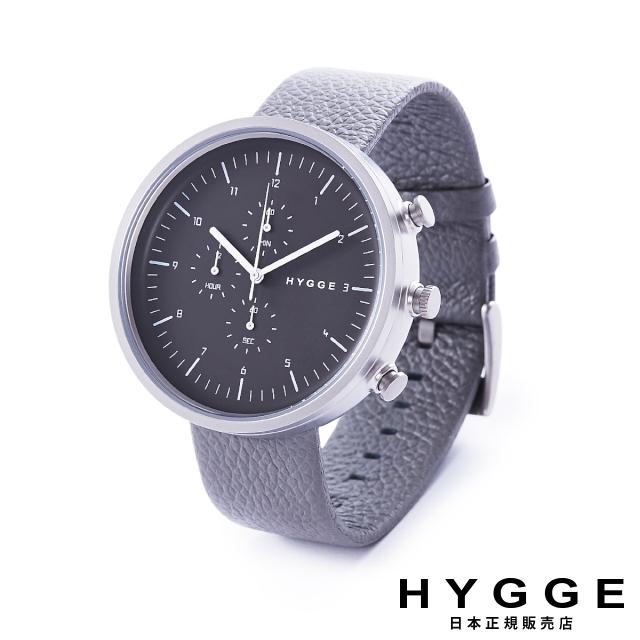 ヒュッケ 腕時計 HYGGE ホライゾン ライトグレイ Horizon Light Grey