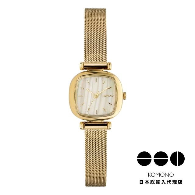 KOMONO 時計 コモノ マニーペニーロイヤル ゴールドホワイト [MONEYPENNY ROYALE - GOLD WHITE]