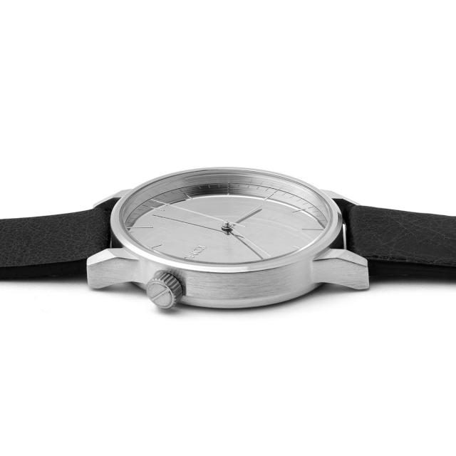 KOMONO 時計 コモノ ウィンストン ミラー シルバー ブラック [Watch : WINSTON MIRROR SILVER/BLACK]