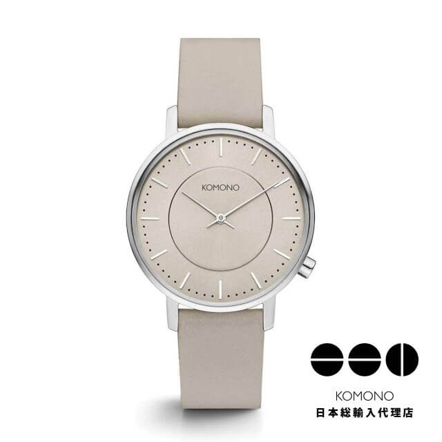 KOMONO 腕時計 ハーロウ ホワイトサンド [HARLOW WHITE SAND]