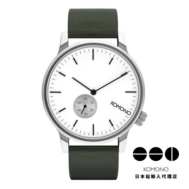 バーゲンで KOMONO 時計 コモノ 腕時計 ウィンストン サブ ハンター [WINSTON SUBS HUNTER], フソウチョウ 424953c4