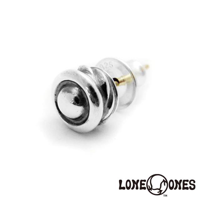 ロンワンズ LONE ONES カーブドスタッドイヤリング 日本正規輸入販売代理店
