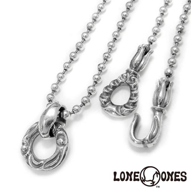 ロンワンズ LONE ONES リンクドヘロンリング& MFフック M ボールチェーン 20inch 約50cm 日本正規輸入販売代理店 人気