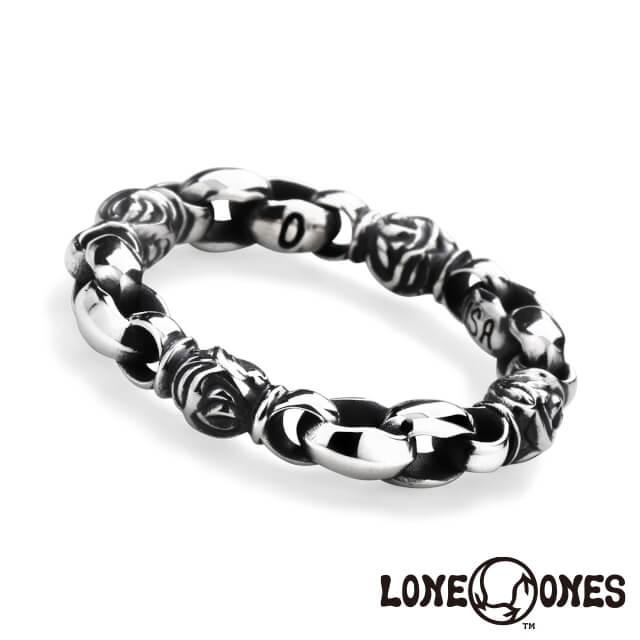 ロンワンズ LONE ONES ミニシルクリンク&イーグルバーレル リング 指輪 日本正規輸入販売代理店