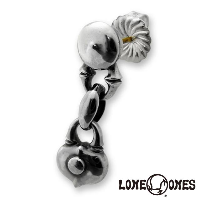 """ロンワンズ LONE ONES """"K&F""""[キス]リンクイヤリングw/ハートロック[ラブロケット] 日本正規輸入販売代理店"""