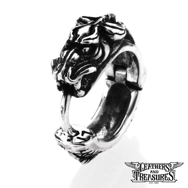レザーズアンドトレジャーズ【LEATHERS AND TREASURES】ドラゴンピアス