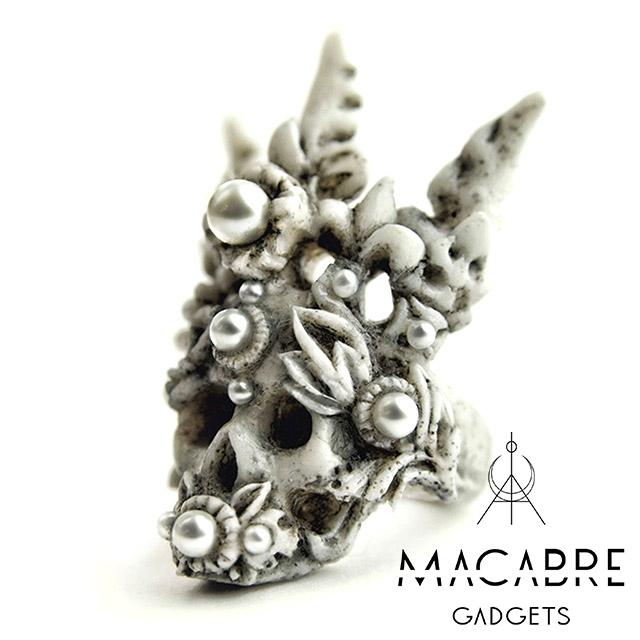 マカブルガジェッツ【Macabre Gadgets】CORAL CROWN RING コーラル クラウン リング
