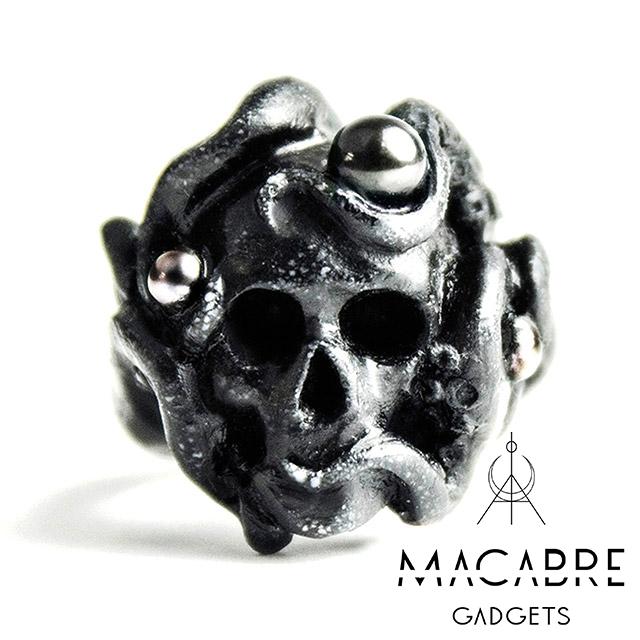 マカブルガジェッツ【Macabre Gadgets】OCTOPUS RING BLACK オクトパス リング / ブラック