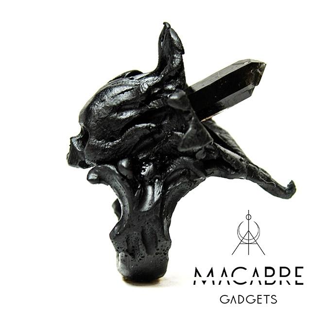 マカブルガジェッツ【Macabre Gadgets】MAVKA RING BLACK マブカ リング / ブラック