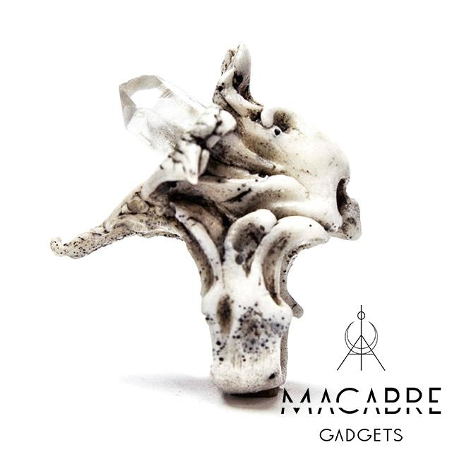 マカブルガジェッツ【Macabre Gadgets】MAVKA RING WHITE マブカ リング / ホワイト