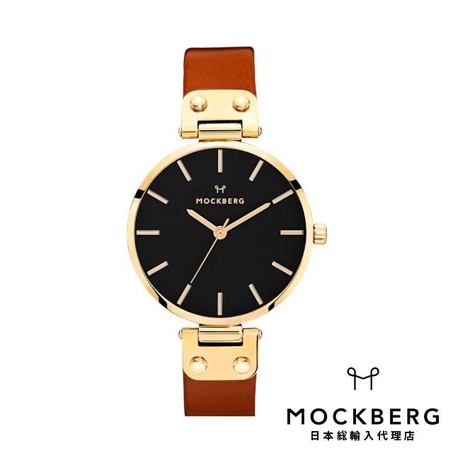 モックバーグ MOCKBERG 日本総輸入代理店公式ショップ 時計 腕時計 レディース ウォッチ Ilse Black ギフト