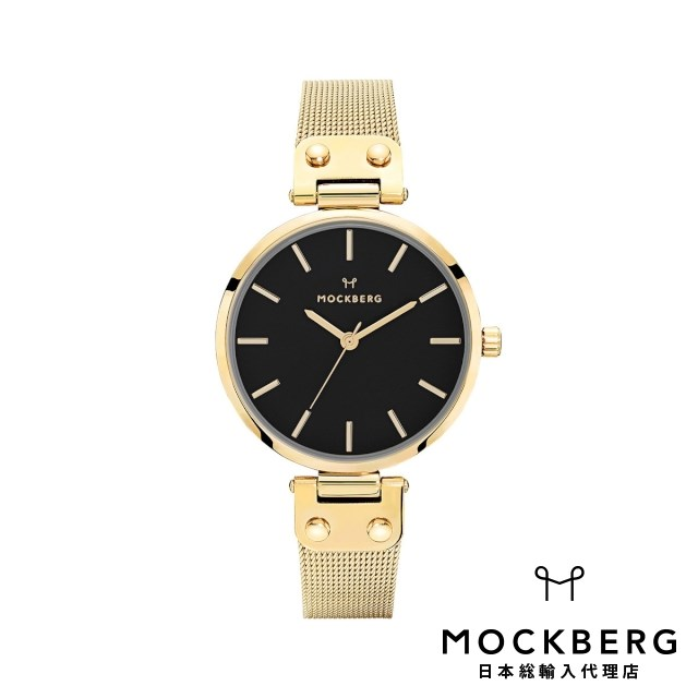 モックバーグ MOCKBERG 日本総輸入代理店公式ショップ 時計 腕時計 レディース ウォッチ Livia Noir ギフト