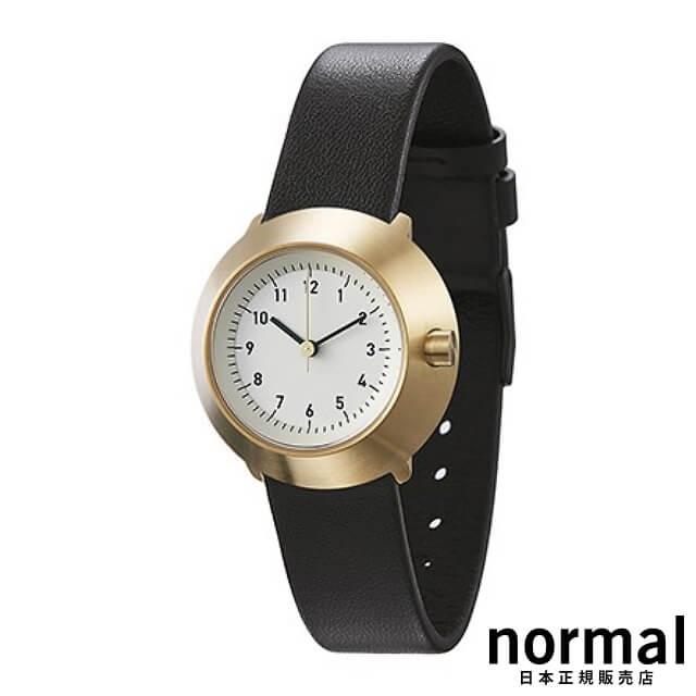 ノーマルタイムピーシーズ 腕時計 フジ ブラック Normal Timepieces FUJI FOR WOMEN F03-L15BL