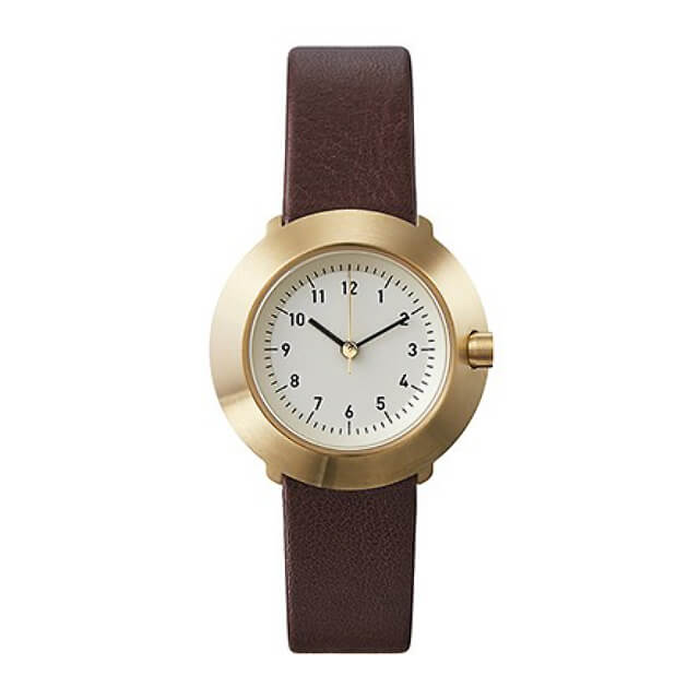 ノーマルタイムピーシーズ 腕時計 フジ ブラウン Normal Timepieces FUJI FOR WOMEN F03-L15BR