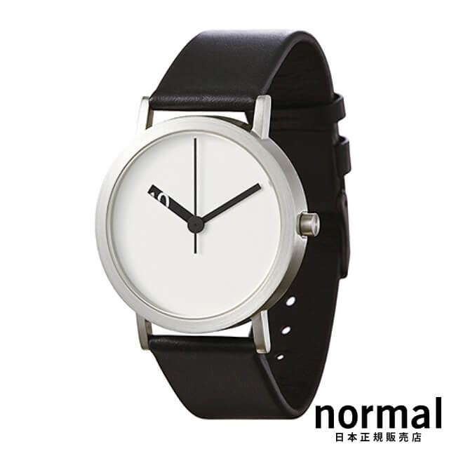 ノーマルタイムピーシーズ 腕時計 エクストラノーマルホワイト 38mm Normal Timepieces EXTRA NORMAL GRANDE EN21-L20BL
