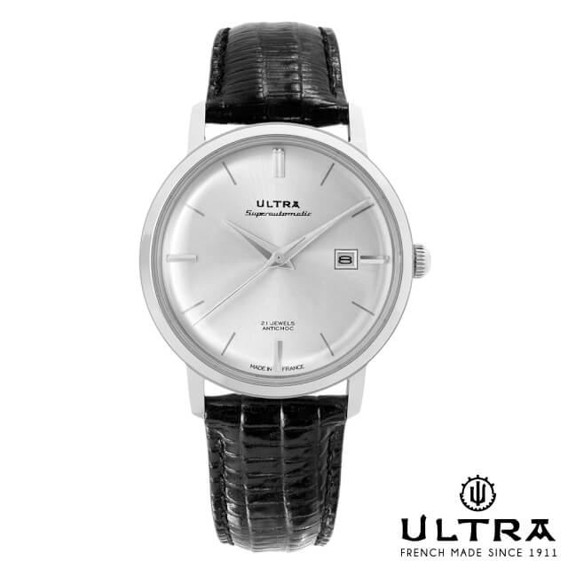 ウルトラ 腕時計 ULTRA Superautomatic SILVER SUNRAY / SILVER LIZARD