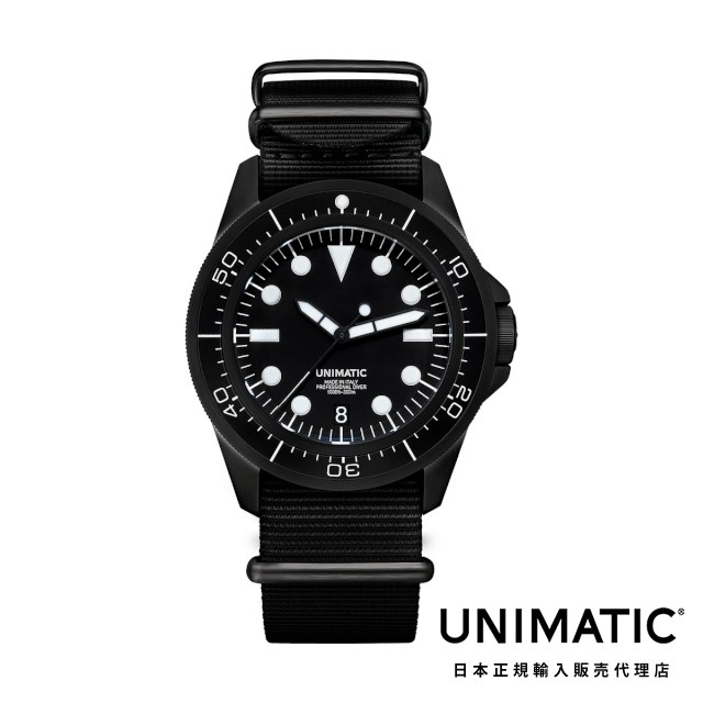 ウニマティック 腕時計 Unimatic Modello Uno U1-DN メンズ ウォッチ