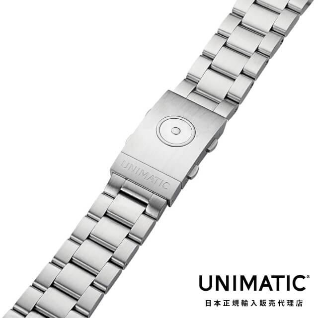 ウニマティック【UNIMATIC】Solid end links stainless steel bracelet