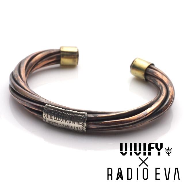 ビビファイ【VIVIFY】[VIVIFY x RADIO EVA] エヴァンゲリオン ケーブル バングル