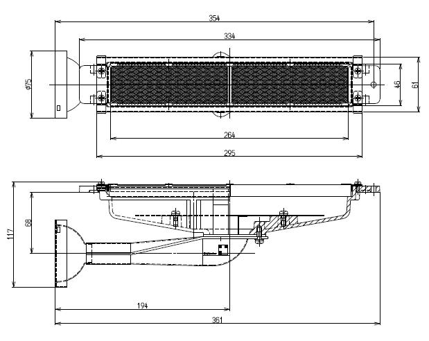 リンナイ荒磯用バーナー RGA 人気ブレゼント リンナイ R-420-7 荒磯用 ガス赤外線バーナーユニット 高価値