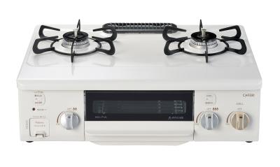 パロマ(Paloma) ガステーブルコンロ PA-S71HP-R/L カフェリ (トップ色 ホーロートップ) 水無し片面焼グリル