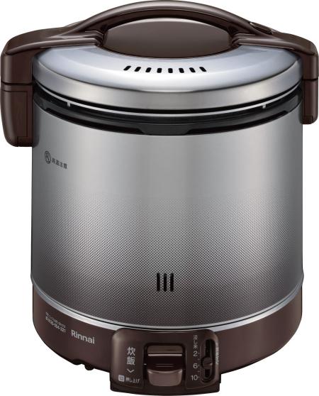 リンナイ 家庭用ガス炊飯器 1.8L 2~10合 RR-100FS(DB) ダークブラウン