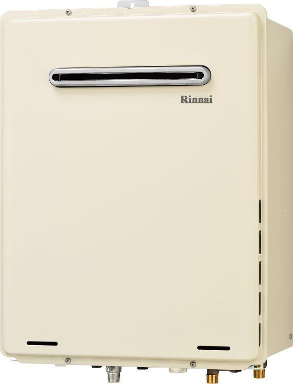 リンナイ ガス風呂給湯器 設置フリータイプ オート 屋外壁掛【RUF-A2405SAW(B)】